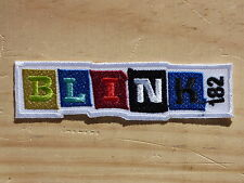 M096 PATCH PATCH TOPPA AUFNAHER TERMO-ADESIVO BLINK 182 punk rock musica