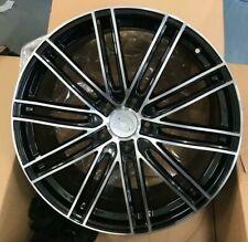 """22""""turbo 4 black pol alloy wheels audi q7/vw tourag 5x130/porsche cayenne tyres"""