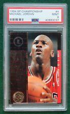 Michael Jordan basketball card PSA 9 Mint - 1994 SP Championship Bulls HOF