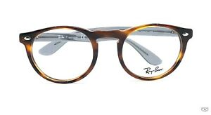 Ray Ban RB5283 5607 HAVANA BROWN/TRANSPARENTTemples  Eyeglasses New Authentic 57