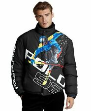$698 Polo Ralph Lauren Alpine Ski 92 Downhill Skier Down Puffer Jacket Size S