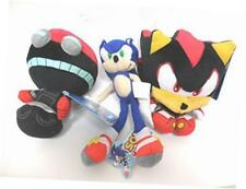 sonic the hedgehog x sonic shadow and orbot 3 plush doll set