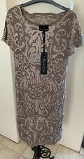 Phase Eight Praline/Cream Talia Dress Uk Size 12 RRP £135