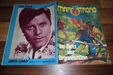 MARK STRONG - Comic # 1 / 1972 -- im NETZ der ORGANISATION / JACK LORD-Titelbild