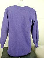 Pre-Owned Pannill Purple Black Sweatshirt Size Small Original Sweatshirts