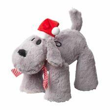 House of Paws Christmas Big Paws Doggy Dog Toy   Squeaky Large Festive Xmas Grey