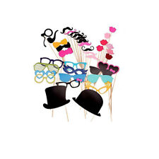 44 Party Photo Booth Selfie Props Wedding Party Kids & Adult Festival Function