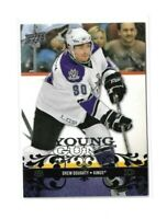 2008-09 UPPER DECK #220 DREW DOUGHTY YG RC UD YOUNG GUNS ROOKIE KINGS