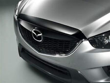 oem 2013 mazda cx-5 cx5 hood bug shield edge guard deflector