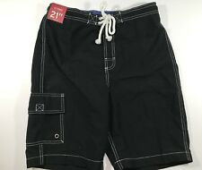men's swimsuit merona NWT Size:Small black 100% polyester