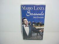Mario Lanza Serenade VHS Video Tape Movie