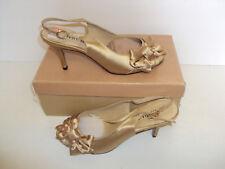 Menbur Champagne (004350) Mid Heels Shoes Ladies Women's Size EU 37 / UK 4