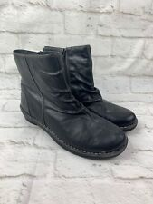 Clarks Nikki Black Leather Ankle Boots Women's 83537 Size 8 M