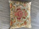 vintage French needkepoint pillows