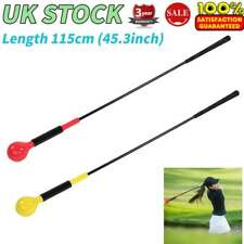 Golf Swing Trainer Indoor Practice Power Strength Tempo Training Aid Club 45.3""