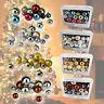 Christmas Tree Baubles Decorations Shatterproof set 86 Glitter Shiny Balls Xmas