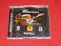 MIDNIGHT CLUB II PC CD-Rom Game by Rockstar Games