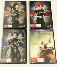 RESIDENT EVIL - DVDs- Apocalypse / Retribution / Extinction