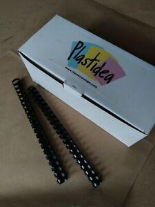 180 Pz Plastica 36mm Anelli Fogli Rilegatura Rilegatura Portachiavi con anelli flessibili per notebook per documenti di carte per ufficio scolastico