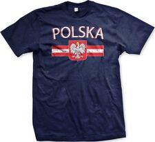 Polska Flag Poland Polish Nationality Ethnic Pride 2014 World Cup -Men's T-shirt