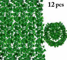 Leaf Garland Plants Artificial Ivy Vine Fake Foliage Home Decor Wall Rattan Kit