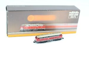 8875 Diesel Locomotive Br 216 Märklin M.Led-Lichtwechsel And 5 Pin Mot. Z + Top+