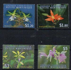 BRIEFMARKEN - GRENADA - CARRIACOU - 2010 - BLUMEN - FLOWERS - FLEURS -
