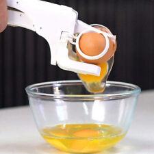 Egg Cracker Handheld York White Separator Helper Egg Opener Kitchen Gadget Tools