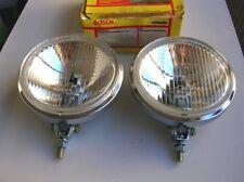 BOSCH CHROME DRIVING LAMP FOGLIGHTS BMW 2002 MERCEDES VOLKSWAGEN  VW NOS