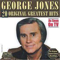George Jones - 20 Original Greatest Hits [New CD]