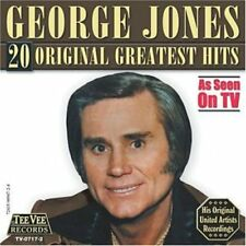 George Jones - 20 Original Greatest Hits [New CD]