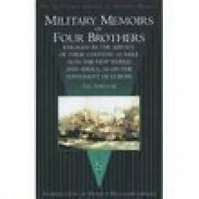 Military Memoirs of Four Brothers: By the Survivor by Thomas Fernyhough...