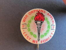 WW2 War Orphans Appeal Legacy Torch 1/- Badge