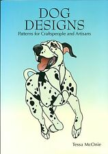 Dog Designs Stained Glass Patterns Book, Books