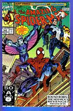 AMAZING SPIDER-MAN # 353  1991- Volume 1 (vf) Punisher app.Signed by Mark Bagley