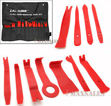 11PC INTERIOR WEDGE INSTALLER PRY TOOL KIT TRIM REMOVAL CLIP NYLON PLASTIC