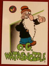 POPEYE - Individual Card #12 - O. G. Watasnozzle - Card Creations - 1994