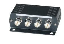 1 Input 4 Output HD-SDI Distribution Video Amplifier HD signal upto 1300Feet