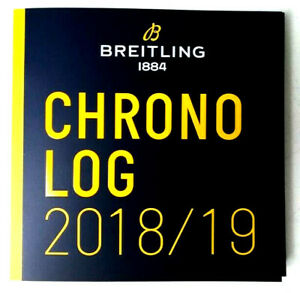 "*** 2018/ 2019 ***  ""Der Neuste"" BREITLING CHRONOLOG Uhren Katalog mit Preislist"