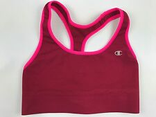 Champion Sports Bra Size Small Red Medium Support Compression Fit Racerback NWOT