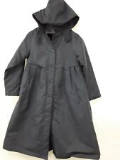 Girls long Coat Navy Marks Spencers Size 9yr /10yr Onwards Petticoat Hooded