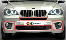 BMW X5 SERIES  LCI 10-13 NEW GENUINE FRONT M SPORT BUMPER GRILL SET OF 4 PIECES