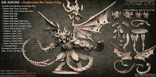 The Demon King 3D Printed Miniature Neckbeardia