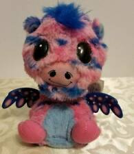 Hatchimals Pink Blue Tie Dye Giraven Interactive Electronic Plush 6