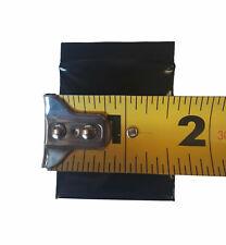1000 15 X15 Ziplock Flat Black Plastic Poly Zip Lock Bags Pouches