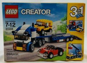 Lego: Creator Series Vehicle Transporter 31033 New/Sealed FREE SHIPPING