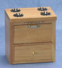 Dollhouse Miniatures 1:12 Scale Stove, Oak #CLA10222