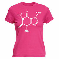 Caffeine Genetic Chemical Structure WOMENS T-SHIRT coffee funny mothers day gift