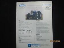 UTB UNIVERSAL Tractor U-530 Family Brochure Vintage Factory Original