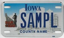 IOWA SAMPLE MOTORCYCLE LICENSE PLATE Share the Roadl